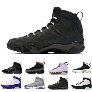 Barato NEW 9s Classic 9 OG space Jam Tour azul negro blanco azul azul High Top zapatos de baloncesto para hombres Sport Outdoor diseñador Shoes US 8-13