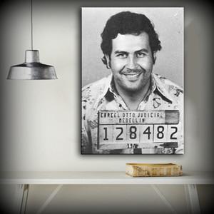 파블로 Escobar 유화, HD Canvas Prints 홈 데코레이션 거실 침실 벽 그림 Art Painting (Framed)