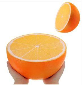 Büyük Portakal Karpuz jumbo squishy Yavaş Yükselen oyuncak 25 CM büyük boy Karikatür sıkmak oyuncaklar Çocuklar eğlenceli Yumuşak Oyuncak anti-stres Hediye