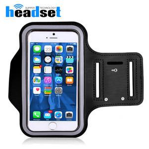 Teléfono celular resistente al agua caja del brazalete del gimnasio Operando estuche estanco al agua Titular del brazal Pounch para Samsung S7 S8 además borde Deportes