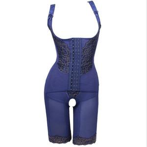 여성 섹시한 정서 전신 셰이퍼 코르셋 속옷 산후 거들 허리 코르셋 버트 기중 장치
