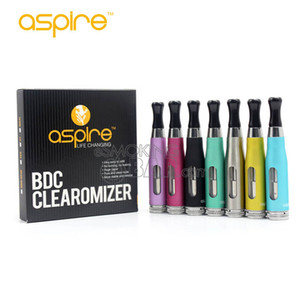 100% Original Aspire CE5-S BVC Clearomizer Aspire CE5S BVC BDC E Electronic Cigarette eGo Atomizers 1.8ml CE5S Vaporizador con BVC BDC Coils