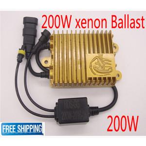 슬림형 200W HID 크세논 밸러스트 디지털 HID 전환 키트 제논 자동차 헤드 라이트 자동 램프