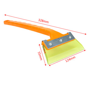 Car-styling Vehículo Auto Snow Limpieza Remover Parabrisas Snow Shovel Scraper Coche Ice Scraper