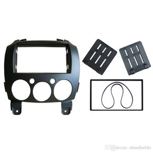 Car 2Din Refitting Frame Panel for Mazda 2 2010 Demio 2007+ Stereo Radio Fascia Dash Mounting Trim Kit Face Frame #5002
