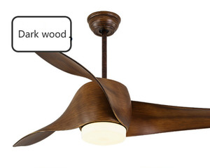 Conversione di frequenza Ventilatore a soffitto americano Light Fashion Semplice ristorante Nordic Retro LED Modern Fan Lampada a sospensione