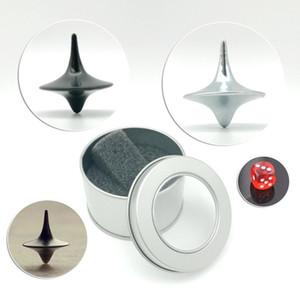 Nouveau Jouet Créatif Spinning Top Inception Mini Métal Magique Gyro Cadeau Pour Exquis Collection Décor Cadeaux D'anniversaire Nouveauté Jeux
