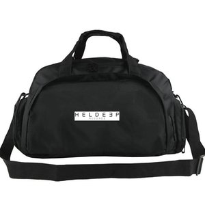 Sac de sport Heldeep Sac de cahier d'attente Top DJ Scrub the back sac de musique au sol 2 voies utiliser bagages Voyage épaule duffle Sport sling pack