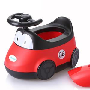 Car Style Ragazzi Ragazze Bambino Toilet Seat Comfort Bambini Toilet Chair Vasino WC Orinatoio Formazione Piedistallo Pan Penico Pee