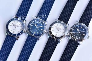 Mens Automatic Miyota 9015 Cal.B20 Orologio Uomo Ceramic Bezel Adventure Uomo Heritage Rubber Resistant Water Dive AB202016 GF Factory Watches