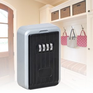 Wall-Mounted Safe Password Key Storage Box Stable And Durable 4-digit combination lock Z20