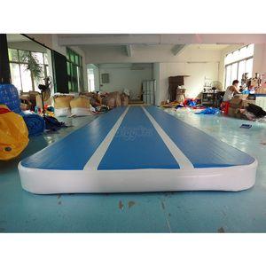 Дешевые гимнастика оборудование на открытом воздухе крытые Раздувные игры следа воздуха батут надувной воздушный сушильный для активности тренажерный зал
