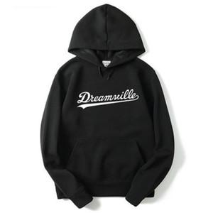 Männer Dreamville Sweatshirts Herbst Frühling mit Kapuze Hoodies Hip Hop Mode männliche beiläufige Pullover Tops Kleidung M-2XL