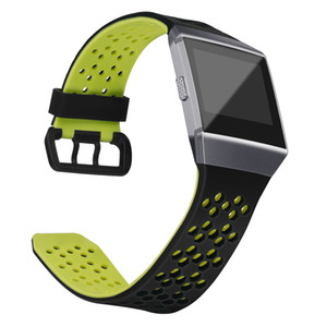New Watch Strap 25MM Soft Silicone Replacement Sport Band Strap For Fitbit Ionic Smart Watch Belt Bracelet montre Accessory