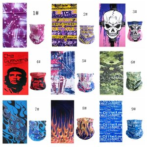 Halloween fashion props seamless multi-function magic bib riding mask to keep warm and change the headscarf