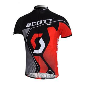 SCOTT yaz erkek kısa kollu bisiklet forması Nefes Hızlı kuru bisiklet Giysileri MTB giyim bisiklet Maillot 52831