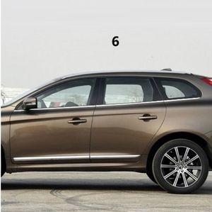 자동차 액세서리 크롬 트림 수정 창 밝은 장식 조각 몰딩 외부 부품 스테인레스 스틸 볼보 XC60
