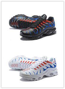 De Buena Calidad World Cup TN Plus zapatillas para hombres French Flag Pack zapatos de diseñador Kylian Mbappé negro blanco TN mujeres zapatillas de deporte
