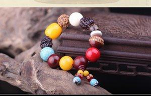 perline di legno massello, bancarelle, automobili di perle, ornamenti interni, Bodhi artigianali naturali semi