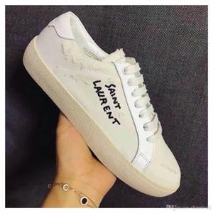 Роскошный хлопок холст немного белый причинно обувь slp зашнуровать высокое качество причинно-следственной унисекс обувь..