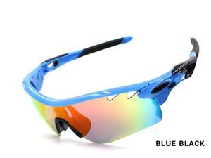 2018 Sıcak Satış 5 adet lens Güneş erkekler Yol UV Koruma Açık Gözlük Golf Beyzbol Polarize Lens Ücretsiz Kargo