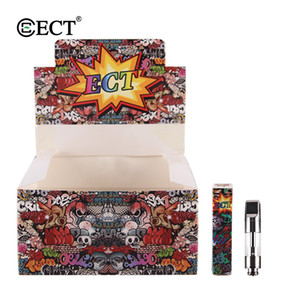 100% Original ECT kenjoy B1S glass vape cartridges ceramic coil 510 thread vaporizer cartridges for thick oil fit CE3 touch battery
