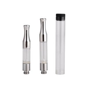 Высокое качество E Cigs 510 одноразовые CO2 танк толстый испаритель масла одноразовые Vape ручка танк CO2 картридж металлический наконечник