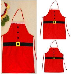 Weihnachten Schürze Weihnachten Küche Koch Schürze freie Größe Restaurant Supermacket Weihnachten Uniform Xmas Decor Supplies Tools