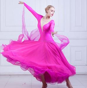 Ballroom Standard Dance Dress womens Waltz Dance Competition Dress professional Ballroom women