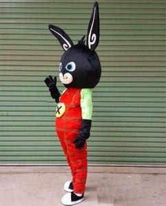 Qualité mascotte 2018 personnalisé Hot Cartoon Lapin Lapin Haute Costume Bing Taille adulte Livraison gratuite Caractère Mascotte Ksvxu
