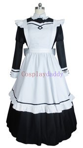 Roupa de Anime japonesa Cosplay Classical Girl Maid Dress Costume