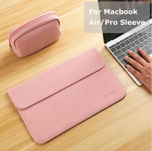 New Matte Laptop Bag for Macbook Air 13 12 Pro 13 Case Sleeve Women Men Waterproof Bag for Mac book Touchbar 13 15 Case Cover free shipping