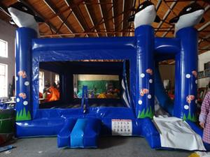 Fantastico Underwater World Theme rimbalzo gonfiabile casa salto zona rimbalzo gonfiabile all'aperto e al coperto