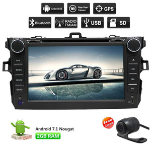 Eincar Double Din Android 7.1 car dvd Stereo for Toyota Corolla 2007-2013 GPS Sat Navigation Audio FM AM Radio LCD Monitor HeadUnit