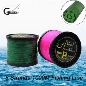 Scelta dei pescatori 8 fili intrecciati Linea di pesca 1000m multicolore Super Strong Giappone Multifilamento PE Braid Line