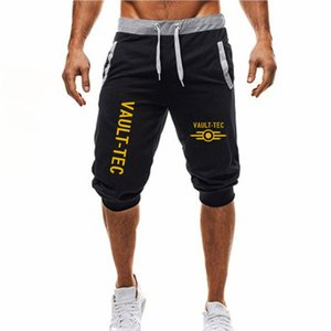 Hot ! New Hot-Selling Man's Shorts Summer Casual Fashion Shorts Vault Tec print Gaming Sweatpants Fitness Short Jogger M-3XL