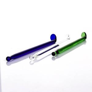 fabricante colorido vidrio dabber para vidrio fumar bong clear.green.blue dabbers tubo de agua plataforma petrolera envío gratis