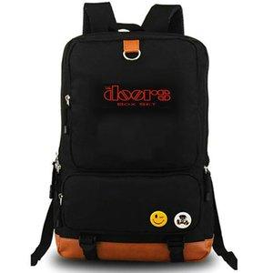 Morrison Hotel backpack The Doors daypack Elektra rock band music schoolbag Laptop rucksack Canvas school bag Outdoor day pack