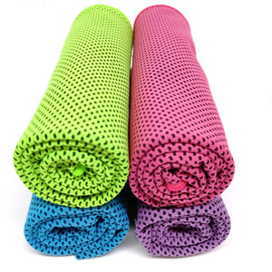 Sports Cold Ice Cooling Towel Fitness Golf Gym Lightweight Quick Dry Neck Scarf Towels Yoga Travel Running Hiking Outdoor Towel