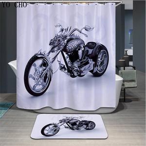 Nouveau design Cartoon Imprimé elephent polyester rideau de douche Salle de bain Accueil étanche Rideaux 3D épaississent rideaux de douche