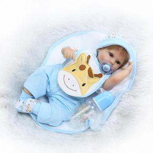 """비비 16 """"실리콘 Reborn 베이비 인형 완구 40cm Handmade Cloth 바디 인형 생동감있는 Baby-Reborn 소년 Bonecas Brinquedos"""