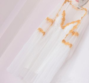 2 sets Long Solid White Sweek Long Deep V neck sexy dress, robes, sleep wears, sexy pajama, lingeries chempies, style RB289