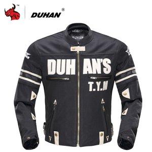 Jacket Duhan motocicleta Verão Men respirável malha MotoJacket Motociclismo Jackets Protector Blouson Moto engrenagem de protecção
