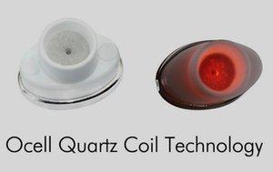 2018 NUOVA bobina al quarzo in cera Qcell al quarzo per vaporizzatore piano micro cera airis N 1