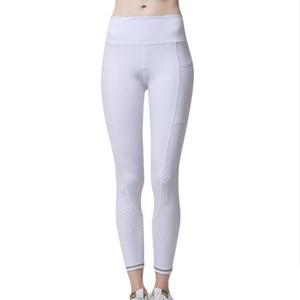 Atacado Best Selling Alta elástica Mulheres Esporte Calças Desgaste de Fitness com Leggings de Yoga Respirável de bolso