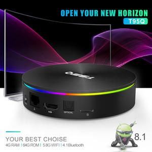 T95Q 4GB 32GB 64GB Android 9.0 Amlogic S905X2 TV BOX Quad Core Dual Wifi BT4.1 Media Player Smart TV Box