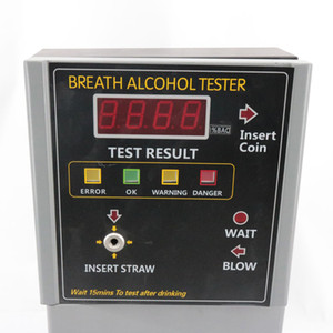 AT319 Breath Alcohol Tester Coin-operated Power by AC adaptor 110 220V