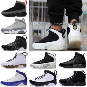 2018 Cheap NEW 9 Basketball Shoes Men White space Jam Anthracite Copper Statue Barons Suede Fabric 9s IX China Sports Tennis Mens Sneakers