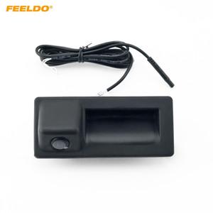 FEELDO retrovisores de coches cámara del tronco cámara manejar para Audi A4L A5 S5 Q3 Q5 A8 visión nocturna cámara del estacionamiento # 2064