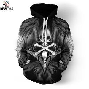 Felpa con cappuccio O-Neck Motorcycle Art Skull Uomo Donna Nuova moda Autunno Inverno Sportswear Tuta Marca Felpa con cappuccio Dropship